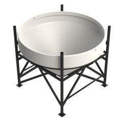 Enduramaxx 1500 Litre 45 Degree Open Top Cone Tank