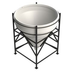Enduramaxx 2000 Litre 60 Degree Open Top Cone Tank
