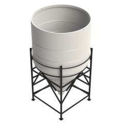 Enduramaxx 6000 Litre 60 Degree Open Top Cone Tank