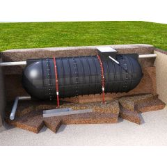 9500 Litre Rainwater V Tank