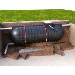 34000 Litre Rainwater V Tank