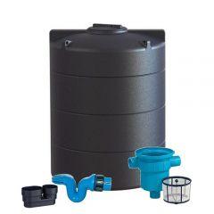 Enduramaxx 2500 Litre Vertical Water Tank with Rain Water Harvesting Kit