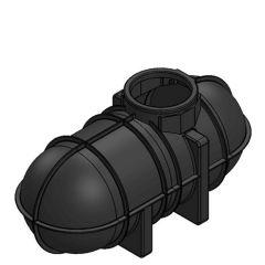 2600 Litres Underground Rainwater Harvesting Header Tank System