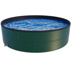9000 Litres Coated Steel Water Tank with Liner