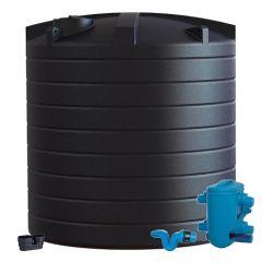Enduramaxx 30000 Litre Vertical Water Tank with Rain Water Harvesting Kit