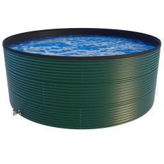 54000 Litres Coated Steel Water Tank with Liner