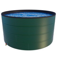 18000 Litres Coated Steel Water Tank with Liner