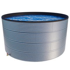 200000 Litres Galvanised Steel Water Tank with Liner