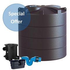 Enduramaxx 5000 Litre Vertical Water Tank with Rain Water Harvesting Kit