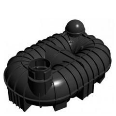8400 Litres Underground Rainwater Harvesting Header Tank System - Twin Neck
