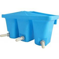 Triple Bucket Hook-On Calf / Lamb Feeder