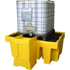 Overflow Drip Tray For Single IBC Spill Pallet