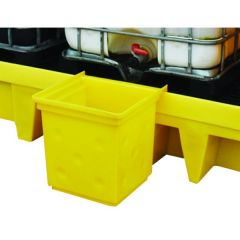 Overflow Drip Tray For Double IBC Spill Pallet