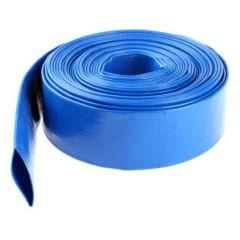 "1 1/4"" Blue PVC Layflat Delivery Hose - 100 Metre Coil"