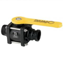 """2"""" Male x Male Adaptor Banjo Bolted Ball Valve"""
