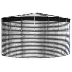 9000 Litres Galvanised Steel Water Tank with Liner
