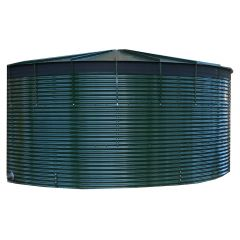 144000 Litres Coated Steel Water Tank with Liner