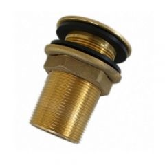 """1 1/4"""" Male Drain Outlet - Brass"""