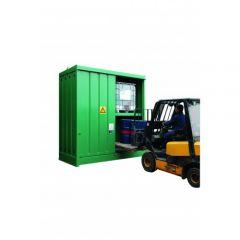 Steel IBC Storage Cabinet - x4 IBC's