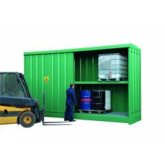 Steel IBC Storage Cabinet - x8 IBC's