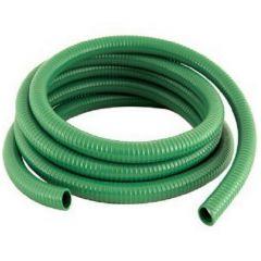 "2"" Green Medium Duty PVC Suction Hose - 30 Metre Coil"
