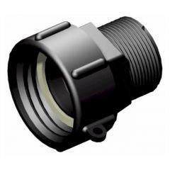 IBC S60x6 (2 inch) Female to 1 1/2 inch BSP Male Adaptor