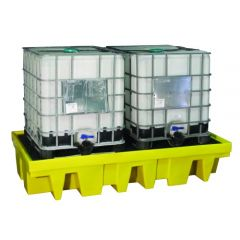 Double IBC Spill Containment Pallet