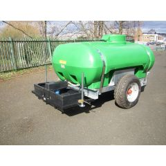 1125 Litres Water Site Bowser with Large Animal Trough