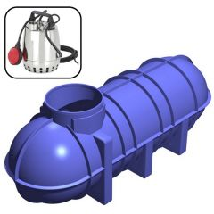 3400 Litres Economy Underground Rainwater Harvesting Garden System