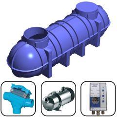 4400 Litres Direct Pressure Underground Rainwater Harvesting System