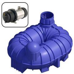 6800 Litres Premium Underground Rainwater Harvesting Garden System