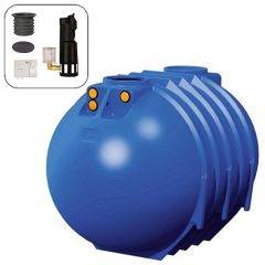 Blue Line II 10000 Litres Full House Underground Water Tank System