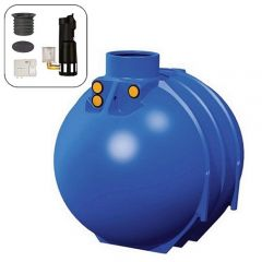 Blue Line II 5200 Litres Full House Underground Water Tank System
