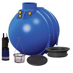 Blue Line II 5200 Litres Basic Garden Underground Water Tank System
