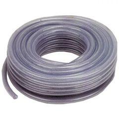 """3/4"""" Clear Braided PVC Hose - 30 Metre Coil"""