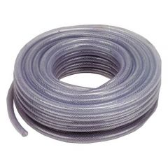 "1"" Clear Reinforced PVC Hose - Sold by the Metre"
