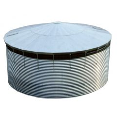 130000 Litres Galvanised Steel Fire Tank