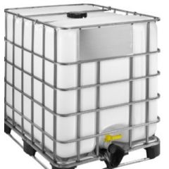 1000 Litre Rebottled IBC - 220mm Lid - Steel Pallet