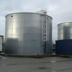 Liquistore Galvanised Steel Water Tank - 140000 Litres