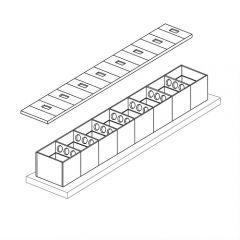 80000 Litre Concrete Modular Water Tank
