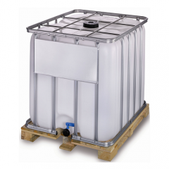 1000 Litre New IBC - Wooden Pallet - UN Approved
