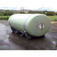 12000 Litre GRP Horizontal Transport Tank