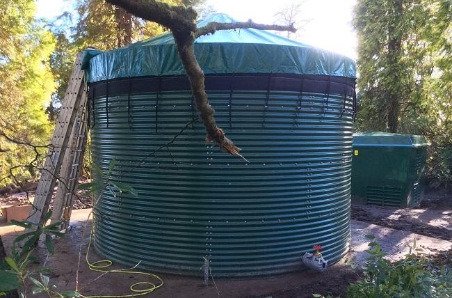 50,000 Litre Tank Installation - Case Study